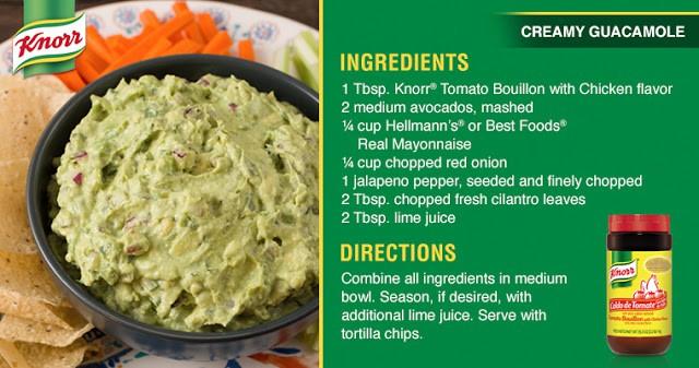Creamy Guacamole Recipe