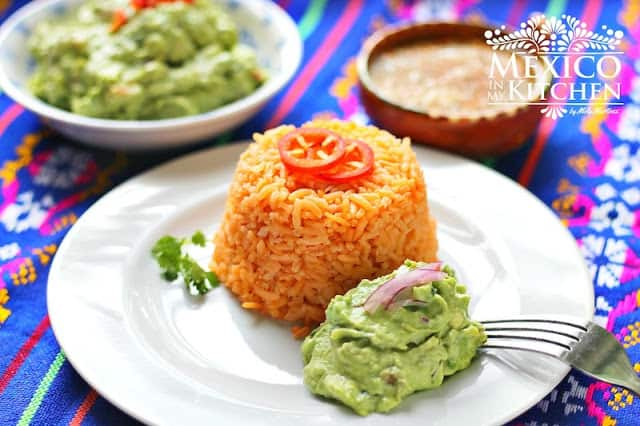 Easy Red Rice Recipe | Mexican Recipes