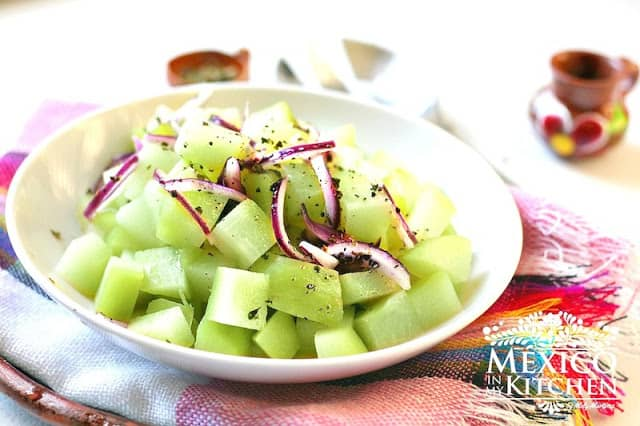 chayote salad recipe | Authentic Mexican Recipes