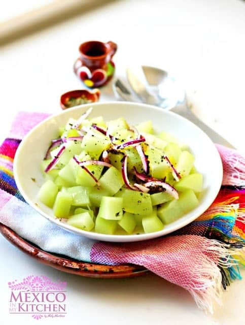 Chayote salad recipe | Mexican Recipes