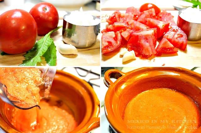 Creamy black bean soup | Mexican Recipes