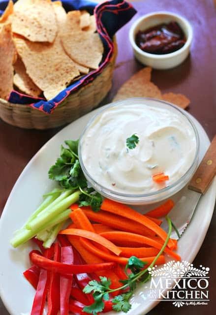 Creamy Chipotle Dip recipe | Mexican Food