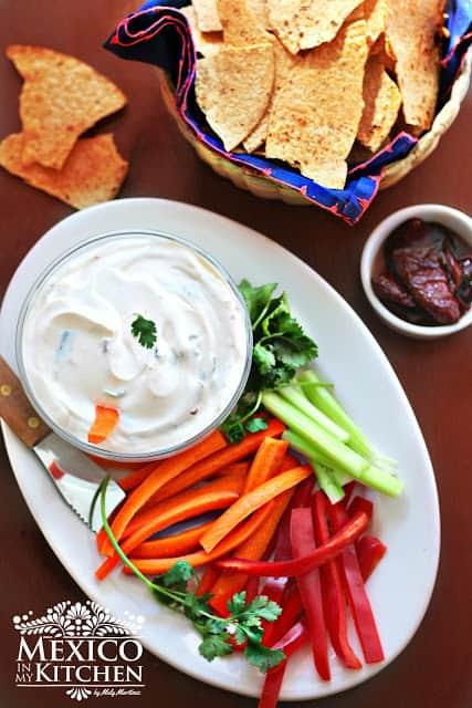 Creamy Chipotle Dip recipe | Mexican Recipes
