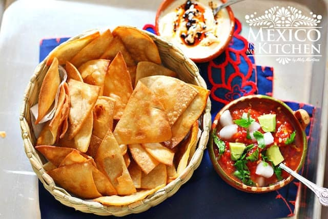 Homemade tortilla chips crispy recipe | Easier Than You Think