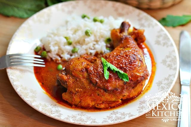 Pollo Pibil, Yucatan style Chicken