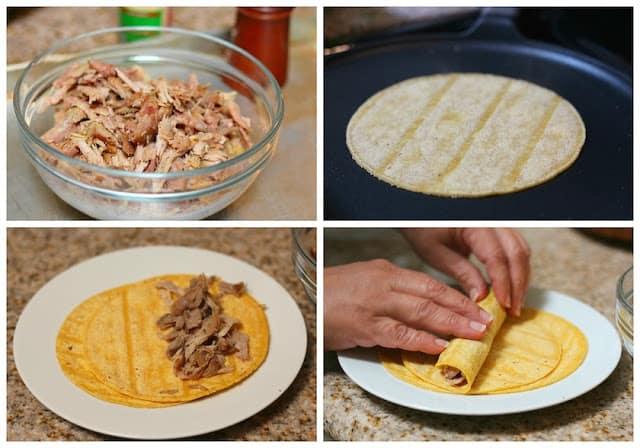 Turkey crispy tacos recipe | step by step instructions