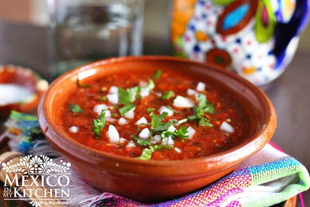 roasted Red Jalapeño Salsa recipe | Authentic Mexican Recipes