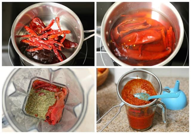 Homemade Red Hot Sauce recipe, quick and easy