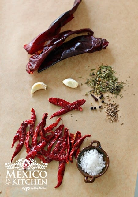 Homemade Red Hot Sauce recipe, step by step instructions with photos of the process.