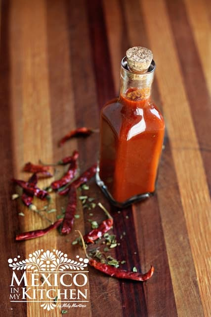 Homemade Red Hot Sauce recipe