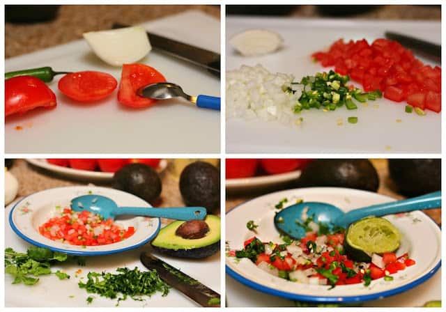 Chunky guacamole recipe quick and easy