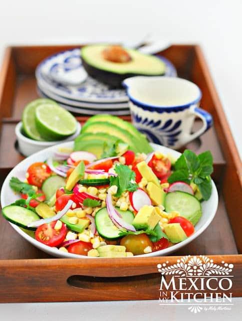 Avocado Tomato Corn Salad Recipe