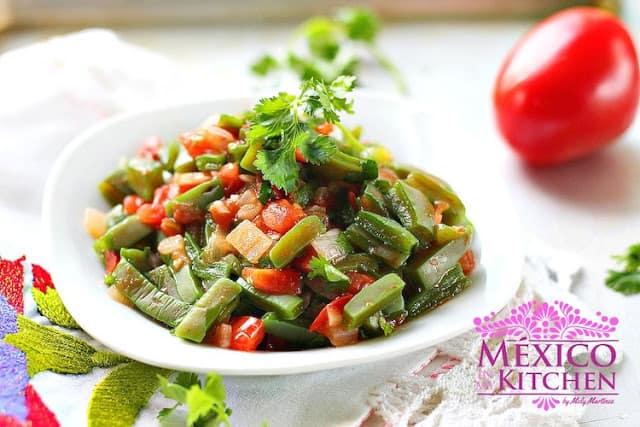 Nopales mexican cactus recipe - Nopales Recipe