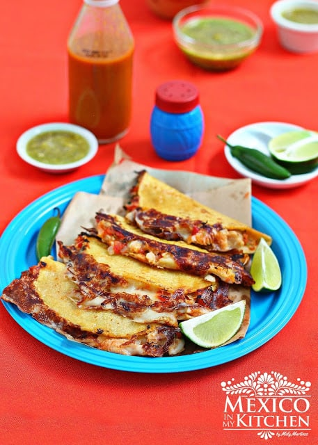 Tripe Quesadillas Recipe How To Video Mexico In My Kitchen