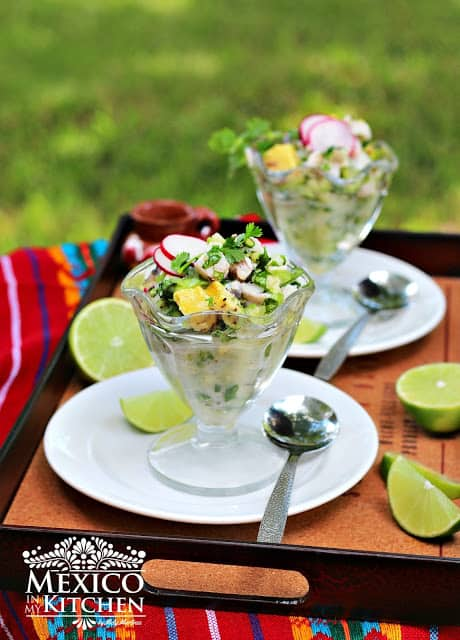 Mexican Ceviche verde │Mexican Food Recipes