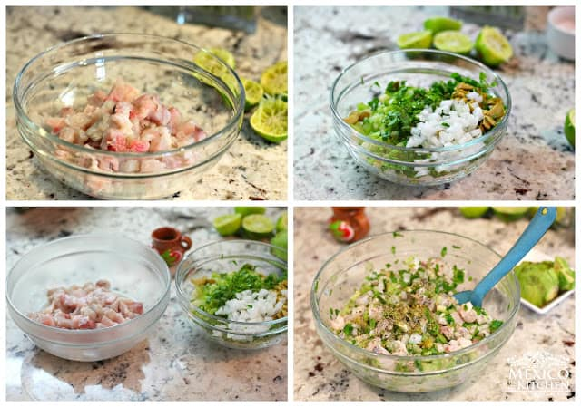 Mexican Ceviche verde │instructions step by step